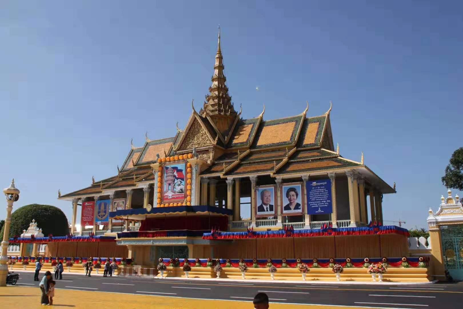 柬埔寨财通娱乐城公寓热水工程